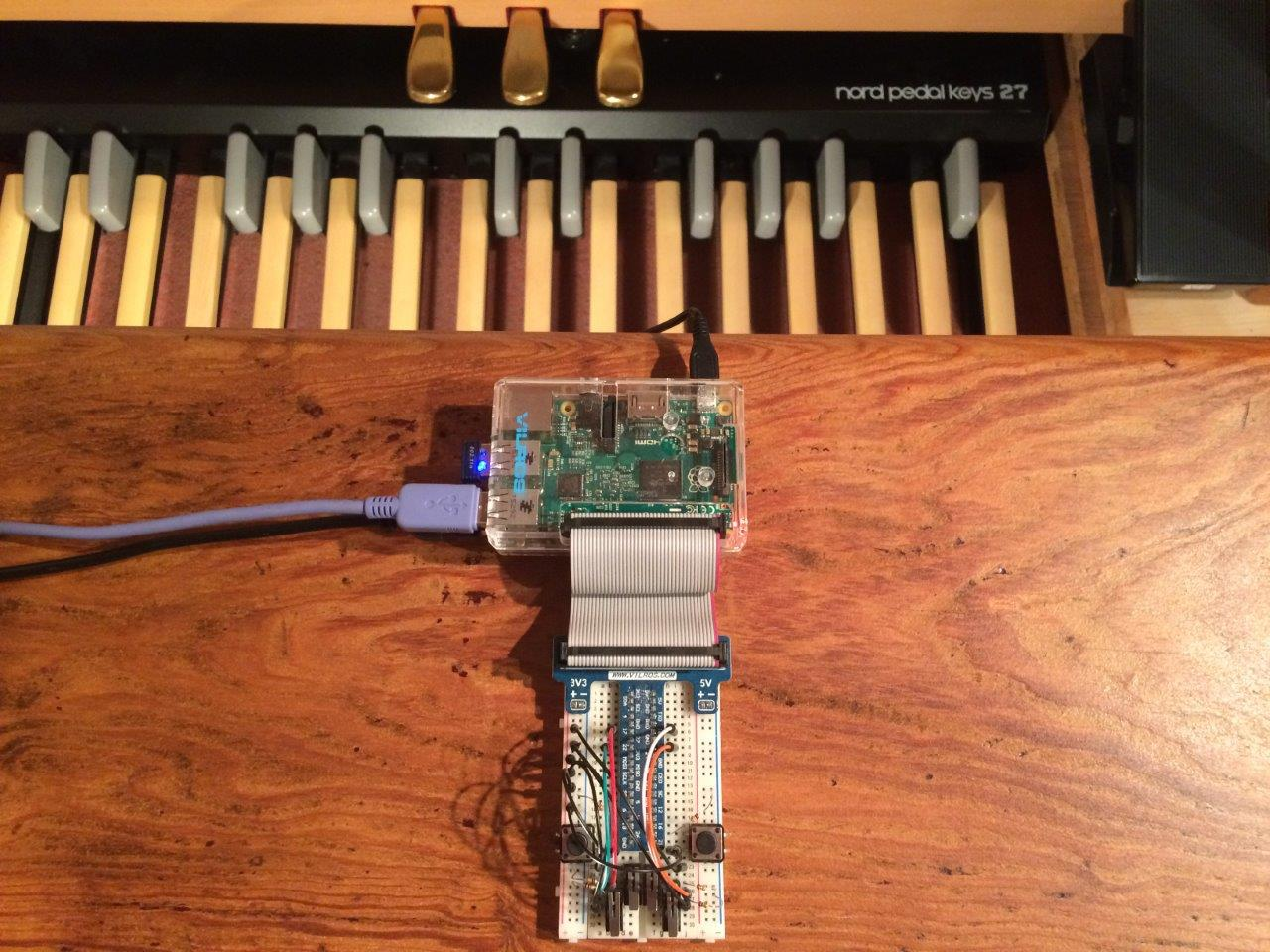 Box Of Stops - A Virtual Pipe Organ for the Raspberry Pi